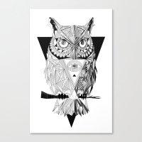 illuminati Canvas Prints featuring Illuminati by Wink
