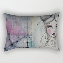 the color wheel Rectangular Pillow