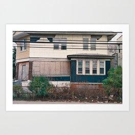 Rockaway Home Art Print