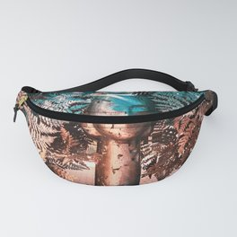 Helechos Plateados by Manolo Valdes Fanny Pack