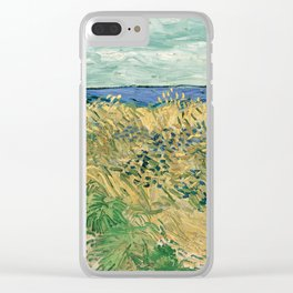 "Vincent Van Gogh ""Wheat Field With Cornflowers"" Clear iPhone Case"