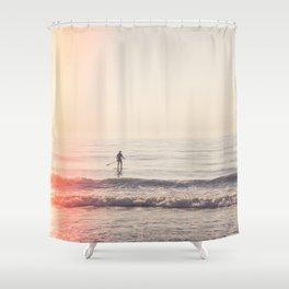 Vintage Paddler Shower Curtain