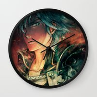 fresh prince Wall Clocks featuring Fresh Prince of Ylisse by Alice X. Zhang