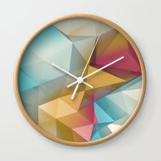Land Sphere Wall Clock