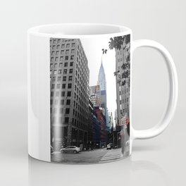 Weekend vibes in New York City - Empire State Building Coffee Mug