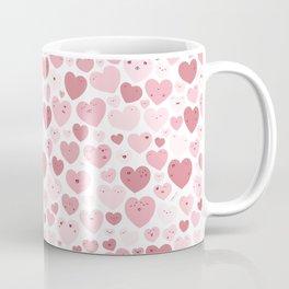 Lovely Hearts Doodle Coffee Mug
