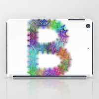 letter iPad Cases featuring Letter B by David Zydd
