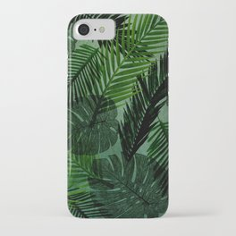 Green Foliage iPhone Case