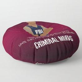 Criminal Minds - Morgan Floor Pillow