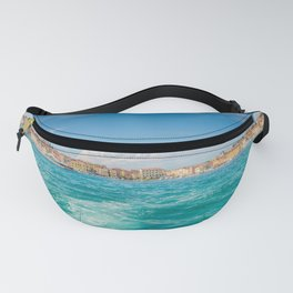 Boat trip Rovinj. View to the city. Fanny Pack