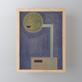 constructo visual 27 Framed Mini Art Print