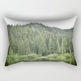 Burnt Lake, Oregon Rectangular Pillow