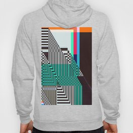 Glitch by Kimberly J Graphics Hoody
