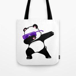 Dabbing Panda Cute Funny kids adults Dabing dane Tote Bag