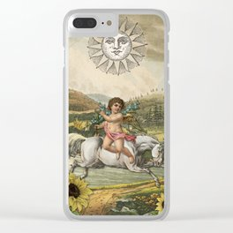 THE SUN MAJOR ARCANA Clear iPhone Case