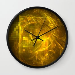 Energized Wall Clock