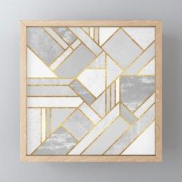 Gold City Framed Mini Art Print
