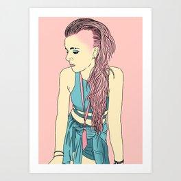 BubbleGunn Art Print