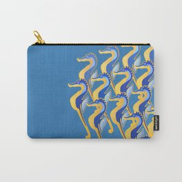 Fresco of the Seahorses. Carry-All Pouch