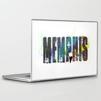 memphis Laptop & iPad Skins featuring Memphis by Tonya Doughty