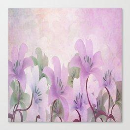 Lavendar Lilies Canvas Print