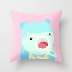 Sweet Kawai zombie Throw Pillow