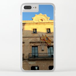 Historical Building on Menorca Clear iPhone Case