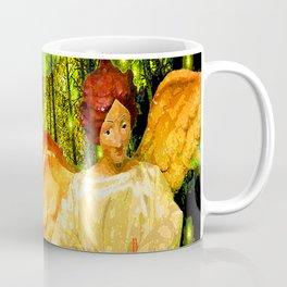ANGELS BRING GLAD TIDINGS OF JOY Coffee Mug