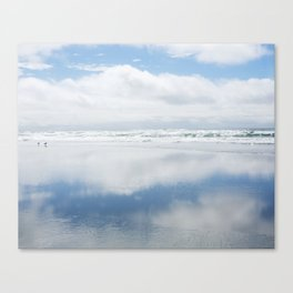 Two Blue Skies Canvas Print