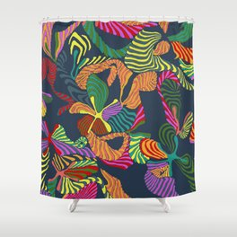 floral feelings Shower Curtain