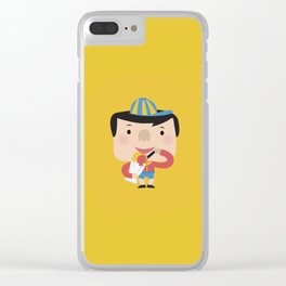 Ice Cream Please (Yellow Tales Series) Clear iPhone Case