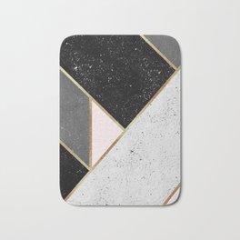 Textured Geometry 1 Bath Mat