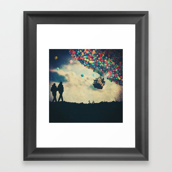 Walk On Framed Art Print