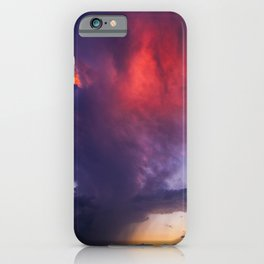 The End of the Storm iPhone Case