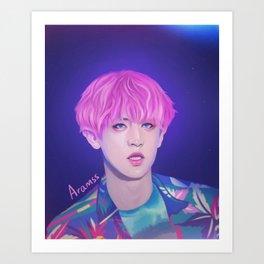 EXO - Chanyeol Art Print