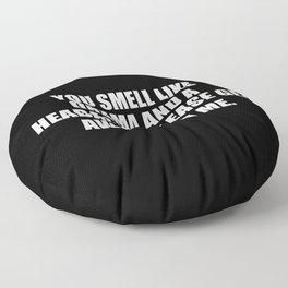 drama sarcastic quote Floor Pillow