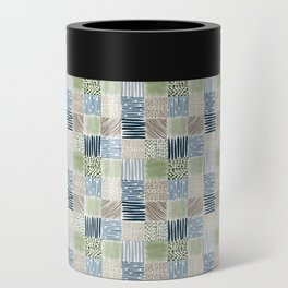 Jungle Set | hand illustrated quilt pattern Can Cooler