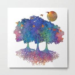 My Colorful Nature II Metal Print