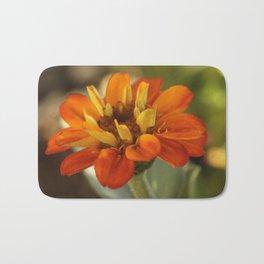 Marigold Flower Bath Mat
