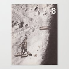 Space Ships (no. 8) Canvas Print