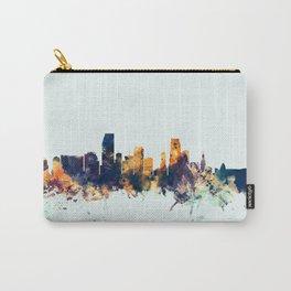 Miami Florida Skyline Carry-All Pouch