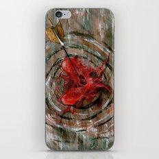 bull's-eye iPhone & iPod Skin