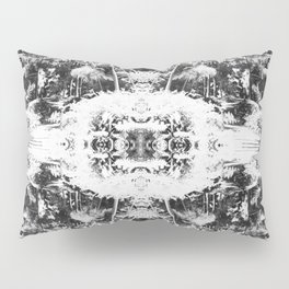 Black n White Boho Pattern Pillow Sham