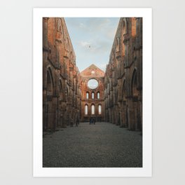 Symmetry of Tuscany Art Print
