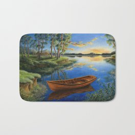Pine lake Bath Mat