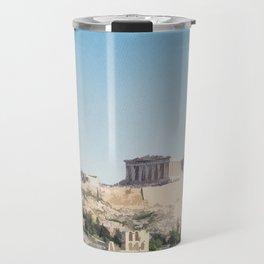 Visit The Acropolis Travel Mug