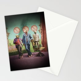 The Three Distinguished Members of the Committee to Handle the Squirrel Problem Stationery Cards