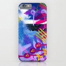 Wave purple Slim Case iPhone 6s