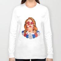 lana Long Sleeve T-shirts featuring LANA  by Aidan Reece Cawrey