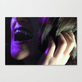 Vampire After Midnight Canvas Print